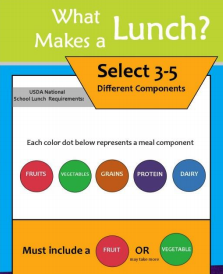 What Makes a Lunch graphic