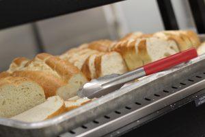 Bread ready to be eaten