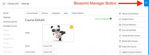 Blueprint Manager button
