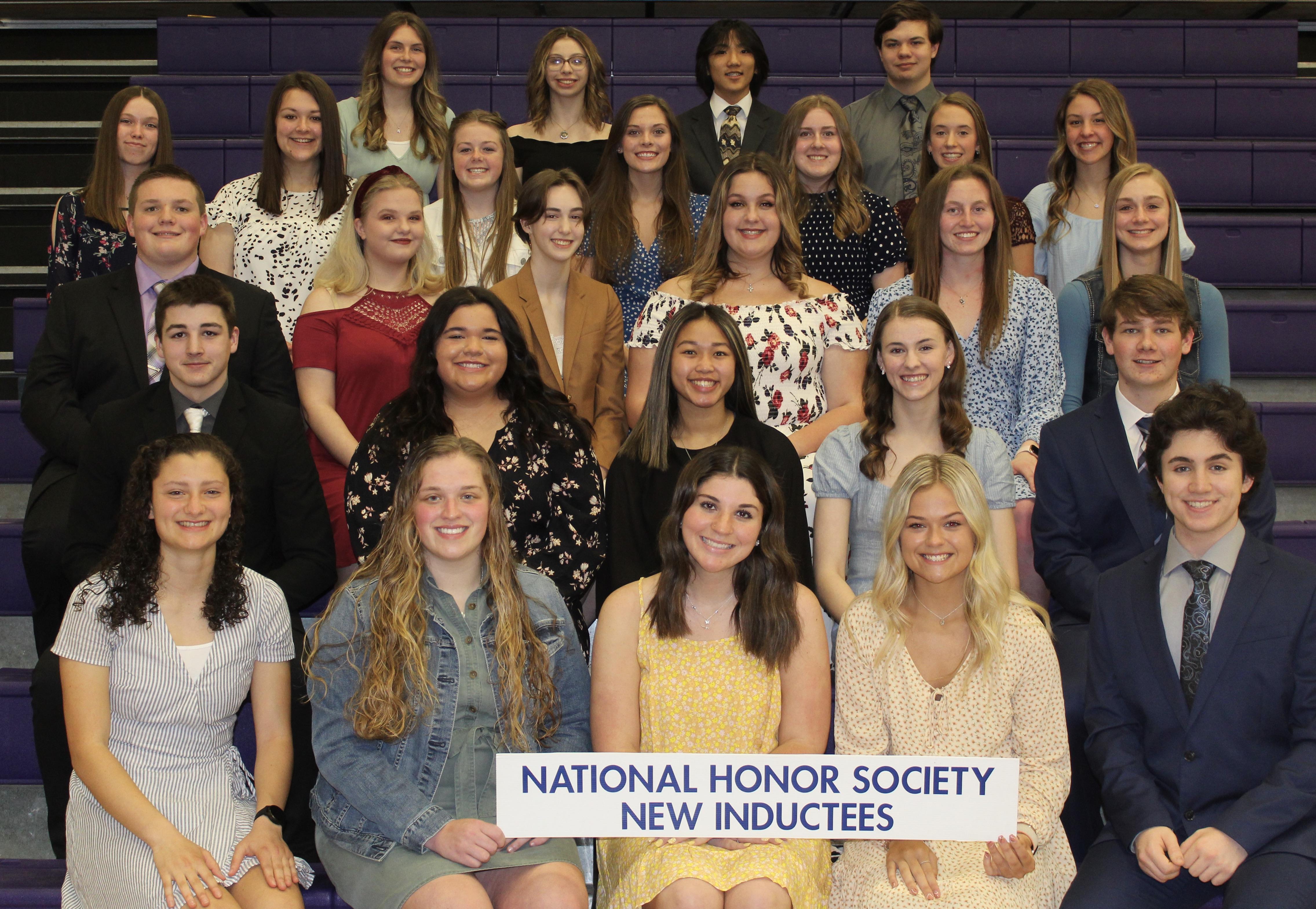 2021 NHS Inductees